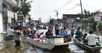 Firmará AMLO decreto para que presas en Tabasco se mantengan vacías en época de lluvia