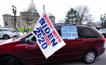 El estado de Michigan certifica la victoria de Biden en las presidenciales