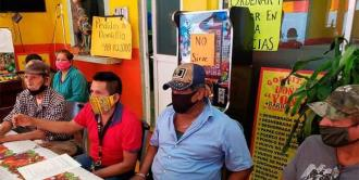 Comerciantes de Micos se niegan a ser reubicados
