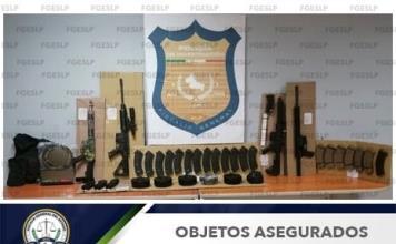 Hallan armas largas, cargadores y cartuchos en narcocampamento en Tamuín