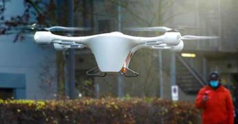 Alemania ensaya enviar vacunas por drones