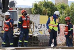 Con altibajos, se mantiene construcción en San Luis