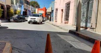 Tránsito coloca conos en calles sin avisar