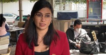 Paloma Aguilar acusa a Reforma de publicar fake news; niega que haya metido parientes en la nómina del SAT