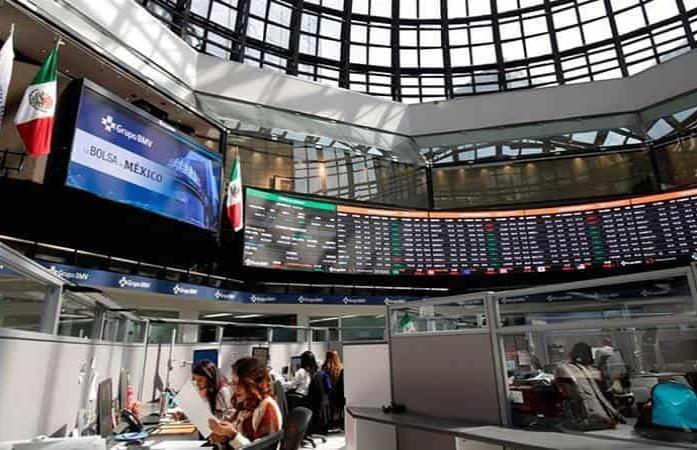 Bolsa mexicana repunta 0.7% y rompe racha de 6 sesiones a la baja