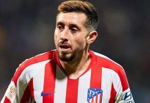 Herrera, ausente en el último entrenamiento del Atlético previo al juego con el Madrid