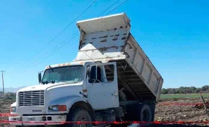 Chofer de camión muere electrocutado