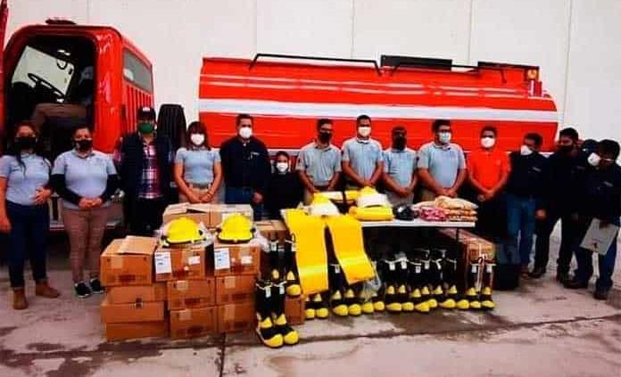 Piden asignar donación de equipo a los bomberos