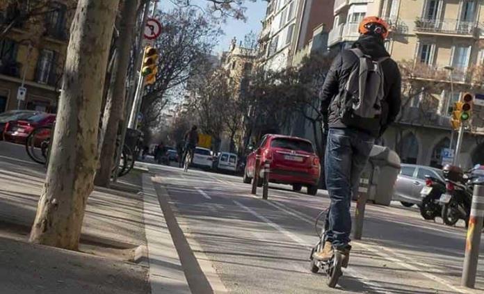 Chocar a 25 km/h con un patinete causa heridas graves a conductores y peatones