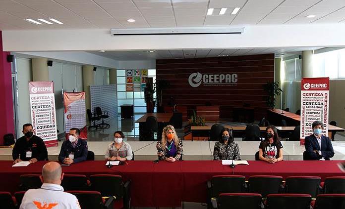 Registra Marvelly Costanzo su candidatura ante Ceepac