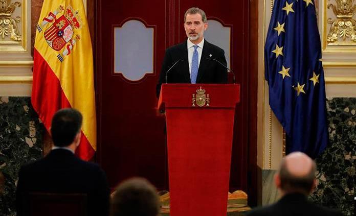 España conmemora el 40 aniversario del fallido golpe de Estado con la ausencia de Juan Carlos I