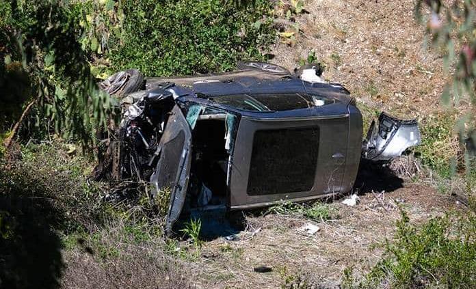 Tiger Woods resulta herido en un accidente cerca de Los Ángeles