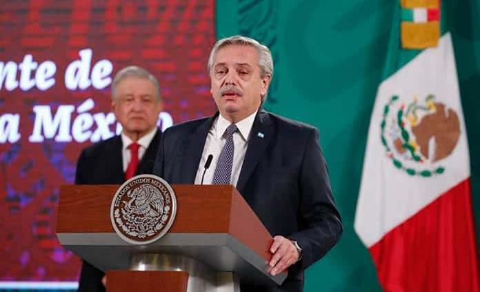 México y Argentina deben crear eje que una el continente, insiste Alberto Fernández