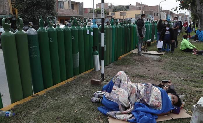 Perú recibirá mil 960 toneladas de oxígeno de Chile para COVID-19
