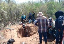 Localizan restos en fosas en Sonora