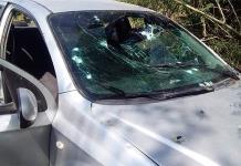 Una familia es baleada al pasar por un asalto