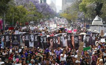 AI denuncia abusos durante protestas feministas en México