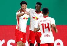 Leipzig derrota a Wolfsburgo, avanza a semis de la Copa de Alemania