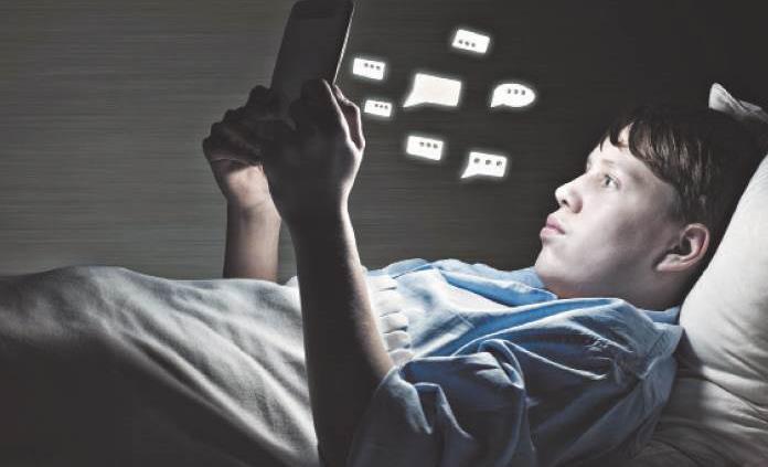 Exceso de actividad en las redes sociales