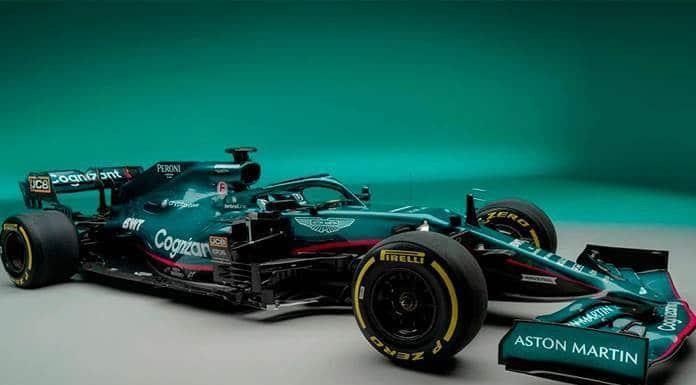 Aston Martin presenta su proyecto F1 con Sebastian Vettel y Lance Stroll'>