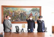 Sale Urban de la policía de Soledad; lo sustituye Leobardo Aguilar Orihuela