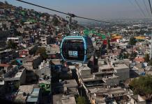 Ciudad de México abre primer teleférico para mejorar movilidad en zonas altas