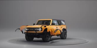 Bronco, una poderosa SUV desmontable en casa