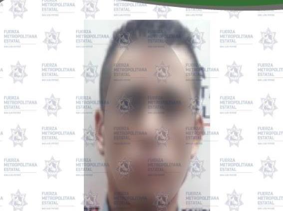Detienen a presunto extorsionador en la Industrial Mexicana