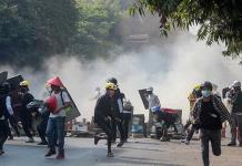 Represión en Myanmar deja 34 muertos