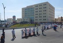 Crisis del Hospital Central será temporal, afirma el gobernador