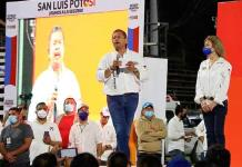 San Luis no está para que nos gobierne un pillo, dice Octavio Pedroza durante arranque de campaña