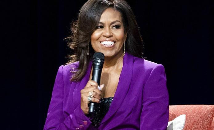 Michelle Obama, cautivada por el tejido, piensa en retirarse