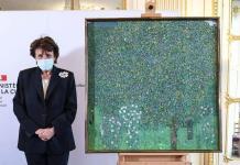 Francia restituye un cuadro de Klimt expoliado a una judía por los nazis