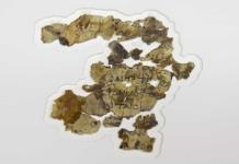 Israel halla nuevos fragmentos de Manuscritos del Mar Muerto