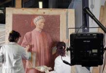 El retrato más conocido de Dante Alighieri rejuvenece tras su restauración