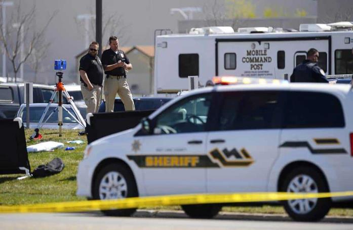 Tiroteo deja 2 policías heridos en Utah; muere agresor