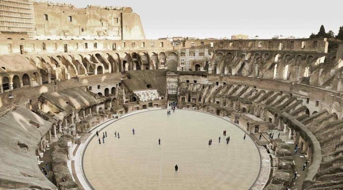 El Coliseo romano recuperará su arena en 2023 con un proyecto ecosostenible'>