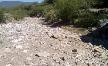 Persiste el saqueo de material pétreo en Mojarras de A.