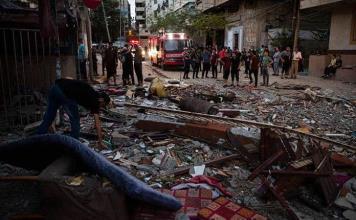 Ascienden a 42 los civiles muertos tras ataque israelí en Gaza esta madrugada