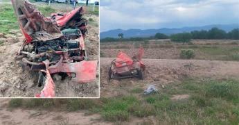 Fallece policía estatal en un accidente carretero