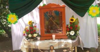 San Isidro Labrador recorrió las parcelas