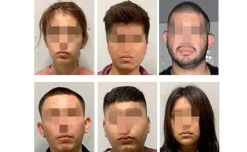 Dan prisión preventiva a 6 personas detenidas con armas de fuego en Valles
