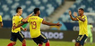 Con jugada genial, Colombia supera a Ecuador