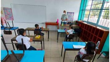 Escuela confirma dos casos de Covid