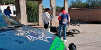 Muere motociclista tras impactarse contra un inmueble