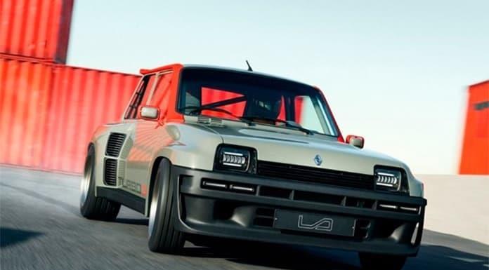Renault 5 Turbo 3, el zapatito de carreras con tecnología moderna'>