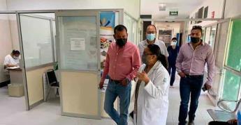Alcalde electo visita instituciones de salud