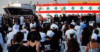 Beirut recuerda a las víctimas de la explosión con ceremonia interreligiosa