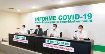 Bajan contagios en la Huasteca ayer