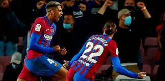 El Barcelona rescata empate ante Granada